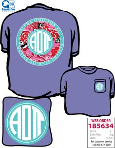 Would be so cute with ADPi Lilly print!