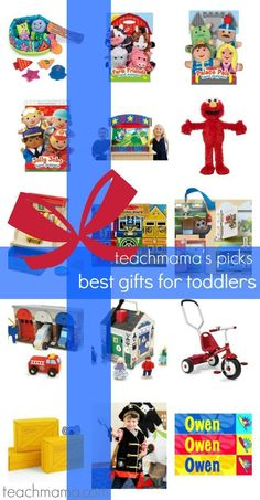 Ready for some holiday Christmas shopping? Here are some great gift ideas for toddlers. They are some of the best ideas for preschool age children. Here's your one-stop for the best gift ideas for toddlers -- but really some great ideas for kindergarteners, too! #christmas #shopping #holiday #giftideas #giftguide #preschool #toddler #shoppingonline