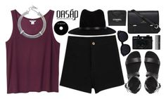 """Oasap 13"" by undercover-martyn ❤ liked on Polyvore featuring Monki, rag & bone, Holga, Sephora Collection, Sloane, Chanel and vintage"
