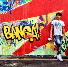 """Austin Mahone shooting his """"Banga Banga"""" music video!"""