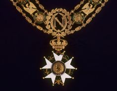 Necklace of the Grand Master of the Order of the Legion of Honour, owned by Napoleon I , ca 1807.