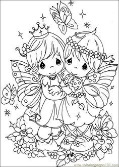 Free Coloring Free Precious Moments Coloring Pages With Precious Moments Coloring Pages On Coloring-Book Fairy Coloring Pages, Printable Adult Coloring Pages, Coloring Pages For Girls, Disney Coloring Pages, Coloring Pages To Print, Free Coloring, Coloring Books, Precious Moments Coloring Pages, Disney Colors