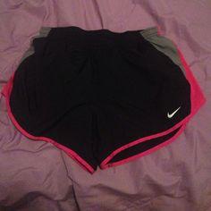 Nike dri fit running shorts never worn Never worn dri fit nike running shorts size medium Nike Shorts