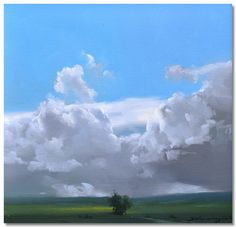 Abend Gallery Fine Art and Custom Framing Landscape Drawings, Abstract Landscape, Landscape Paintings, Environment Painting, Dark Skies, Sky And Clouds, Fauna, Cool Artwork, Figurative Art