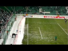 Fans Throw Snowballs At The Opponent Team