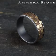 Wedding Rings Sets His And Hers, Unique Wedding Bands, Wedding Ring Men, Men's Jewelry Rings, Gold Jewelry, Jewellery, Mens Gold Rings, Rings For Men, Bijoux Design