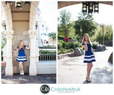 Mariah- A Disney World Magic Kingdom Senior Session- Contemporary Hotel- » Collette Mruk Photography Blog
