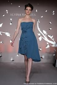 2012 Spring Bridesmaid Dresses from the Runway  Alvina Valenta