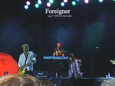 Foreigner performing at the Grandstand at the  U.P. State Fair 2006