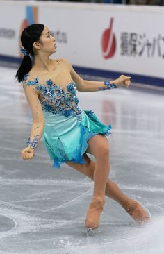 Haruka Imai of Japan skates in the Ladies Free Skating during ISU Rostelecom Cup of Figure Skating 2013 on November 23, 2013 in Moscow, Russia. (November 22, 2013 - Source: Oleg Nikishin/Getty Images Europe)