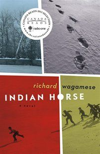 Indian Horse Book by Richard Wagamese.  The Amnesty International Book Club selection for January 2015.   amnestybookclub.ca/