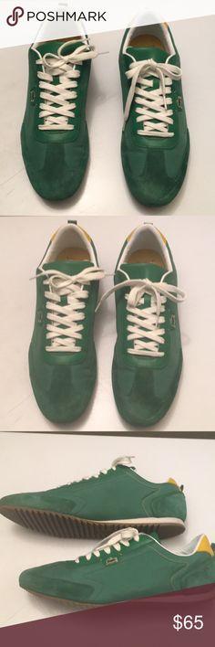LACOSTE L!VE green men shoe sneaker size 13 LACOSTE L!VE men sneaker shoe size 13. Like new and in great condition Lacoste Shoes Sneakers
