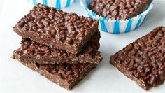 Chocolate crunch bars from Joy Bauer's cookbook From Junk Food to Joy Food