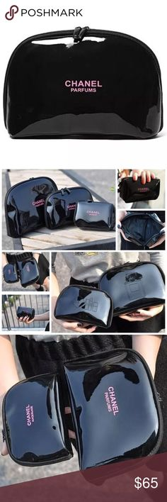 large makeup bag with compartments - Google Search | Chanel ...
