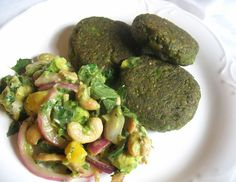Green Pea Falafel