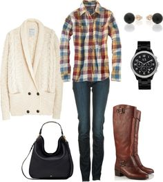 Would be super cute for a fall outfit. You can dress this outfit up or down. Love!