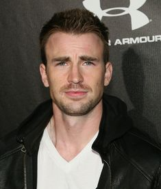 Chris Evans. Captain America. Oooooooh my goodness!