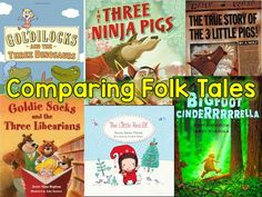 Comparing Fairy and Folk Tales
