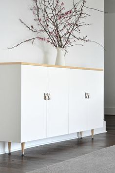 IKEA hacks perfect to do for the IKEA cabinet we already have.                                                                                                                                                      More