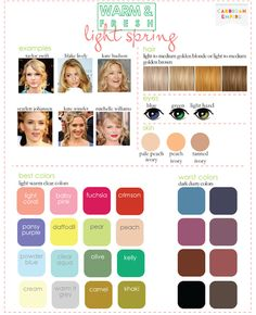 Color Analysis: 3 Degrees of Warm & Fresh