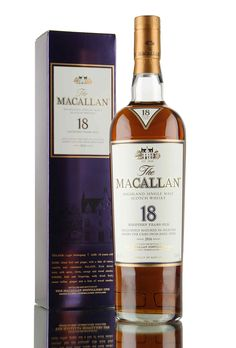 The 2016 release of Macallan 18 year old, matured in specially selected sherry oak casks from Jerez, Spain.