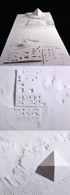 Aires Mateus | The Grand Museum of Egypt - Competition 2002  Michael Maltzan Architecture