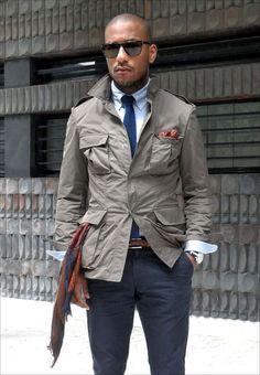Love the safari jacket!
