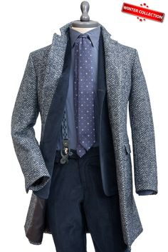Tweed Baby Llama Wool Coat , Coats - MONTEZEMOLO, MONTEZEMOLO - 1