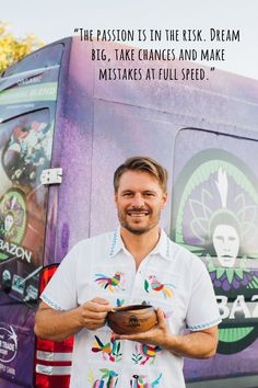 An interview with Ryan, the founder of the world's leading producer of açaí, Sambazon. If you're keen to learn more about social business then this is the interview for you. Social Business, Very Excited, Behind, Dream Big, Interview, World, People, Change, Amazing