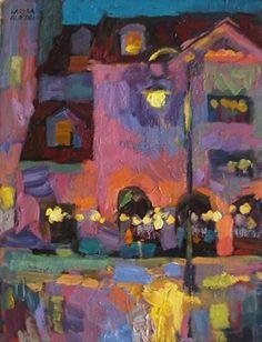 Larisa Aukon, After The Rain by Larisa Aukon Oil ~ 12 x 9