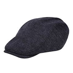 Vbiger Pure Wool Beret Hunting Newsboy Cap Hat