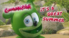 It's A Great Summer - Gummibär - The Gummy Bear Good Day Coffee, Gummy Bear Song, Cartoon Songs, Summer Youtube, Funny Bears, Bear Cartoon, Yoshi, Bear Songs, Playlists
