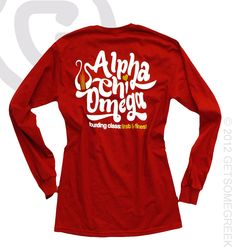 ALPHA CHI OMEGA CUSTOM GROUP ORDER!!