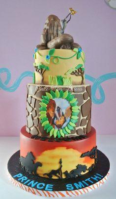 The Lion King; Pride Rock - Cake-Um-Licious, facebook