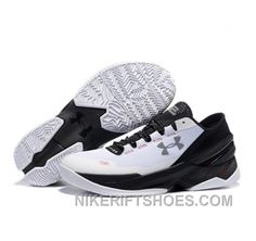 fc598426c24f Under Armour Stephen Curry 2 Shoes Low Black White For Sale Ai6kG