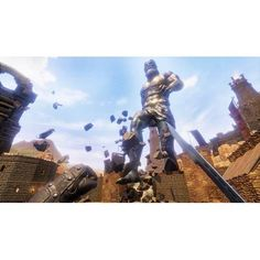 Build a warrior from beginning to end in Conan Exiles for Xbox One. Revisit the world of Conan the Barbarian and endeavor to develop skills and gather the weapons needed to build a vast empire from virtually nothing. Combining battles for power with hunts for resources, Conan Exiles iis an open-world gaming experience for fans of the Conan story. Conan Exiles, Conan The Barbarian, Hunts, Xbox One, Weapons, Cool Things To Buy, Battle, Empire, Gaming