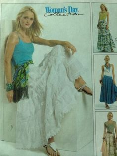 SEWING PATTERN MCCALL'S M5108 Misses Skirt Size 6 8 10 12