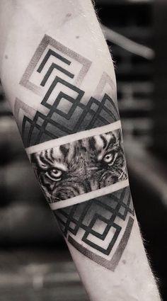tiger tattoo sleeve - Top 100 Gorgeous Tattoo Ideas And Designs For Men tattoosformen tattoosformensleeve tattoosformenforearm tattoosformenonshoulder Tiger Eyes Tattoo, Tiger Tattoo Sleeve, Lion Tattoo, Sleeve Tattoos, Tiger Tattoo Design, Gorgeous Tattoos, Unique Tattoos, Small Tattoos, Tattoos For Guys