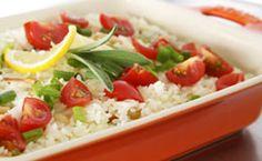 Arroz de limão siciliano com amêndoas e tomate cereja - Receitas - Receitas GNT
