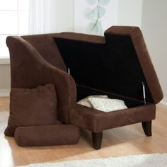 chaise with storage