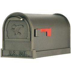 Solar Group AR15T000 Large U.S.P.S. Approved Premium Mailbox, Bronze - Amazon.com