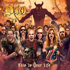 Ronnie James Dio - (A Tribute To) This Is Your Life - Various Artists 2LP