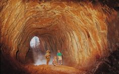 The Undara Lava Tubes are located in Far North Queensland Australia and are an ancient and geologically wonderful sight to behold. Queensland Australia, South Australia, Western Australia, Australia Travel, Lava, Australia Tourist Attractions, Atherton Tablelands, Great Barrier Reef, Tasmania