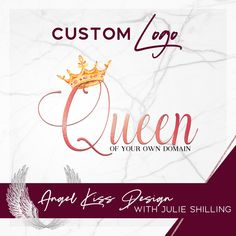 Crown Logo for Queen of your own domain