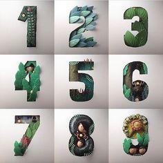 Instagram — 36 Days of Type