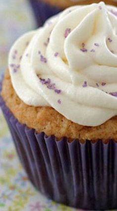 Peanut Butter Cupcakes with Marshmallow Fluff Frosting