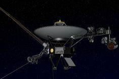 Artist's concept of NASA's Voyager spacecraft.