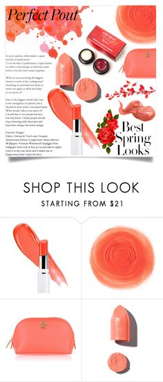 """Oranges and corals, colours of passion and fashion.."" by its-siobhan-again ❤ liked on Polyvore featuring beauty, H&M, Tory Burch, PUR and Bobbi Brown Cosmetics"