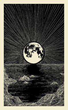 A fase lunar denominada LUA NEGRA acontece mensalmente, nos três dias que antecedem a lua nova. Durante este período, o fino disco da lua minguante diminui até desaparecer na escuridão da noite. Tendo em vista que a luz da lua, é na verdade, a luz solar refletida pelo disco lunar, poderíamos dizer que a lua negra 'mostra' a verdadeira face oculta da lua. (Link informações)