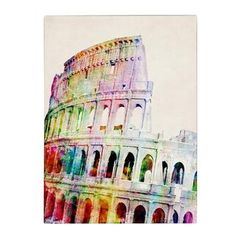 @Overstock.com - Michael Tompsett 'Colosseum' Canvas Art - Artist: Michael Tompsett Title: ColosseumProduct type: Giclee, gallery wrapped  http://www.overstock.com/Home-Garden/Michael-Tompsett-Colosseum-Canvas-Art/8122145/product.html?CID=214117 $44.09